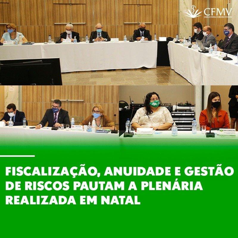 349ª Sessão Plenária Ordinária do Conselho Federal de Medicina Veterinária